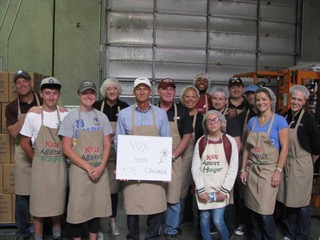 Kids Against Hunger Volunteer Event