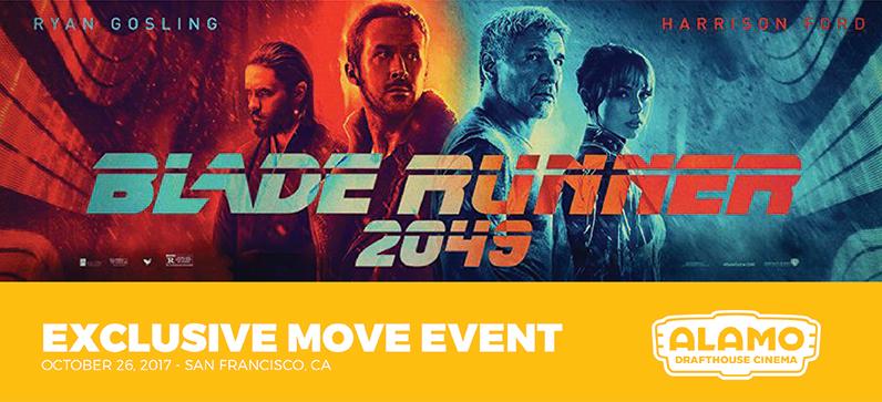 Exclusive Luxury Movie Event:  Blade Runner 2049