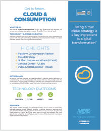 Lifecycle Cloud and Consumption