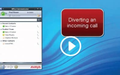 Avaya MS OCS Client Integration with ACE by VOXNS