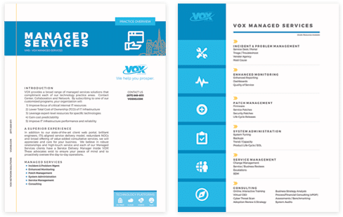 VOX Managed Services