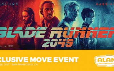 Exclusive Luxury Movie Event:  Blade Runner 2049
