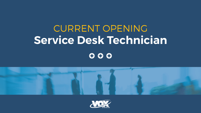 Service Desk Technician